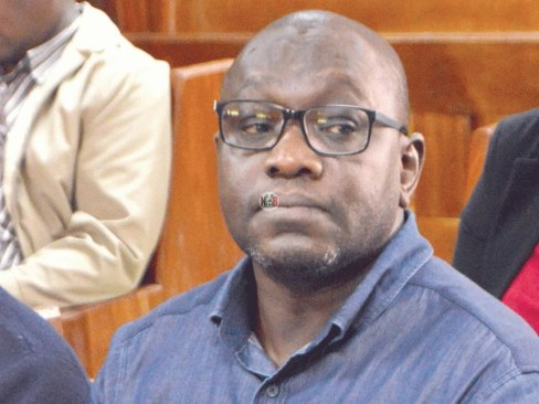 Ekuru Aukot has been arrested