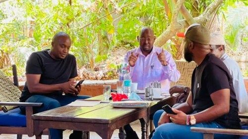 Governor Joho Raises Eyebrows as He Skips Raila's Rally to meet Mp Jaguar