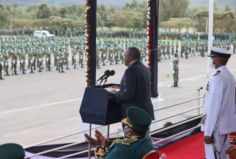 Why Uhuru Lectured Gov't Officials In Gilgil NYS Passout.