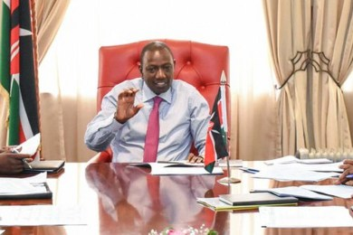 Ruto in Office