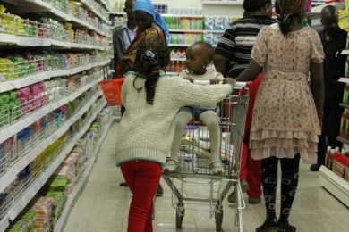 kenyans shopping