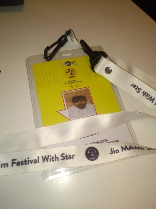 MAMI film festival 2018 badge