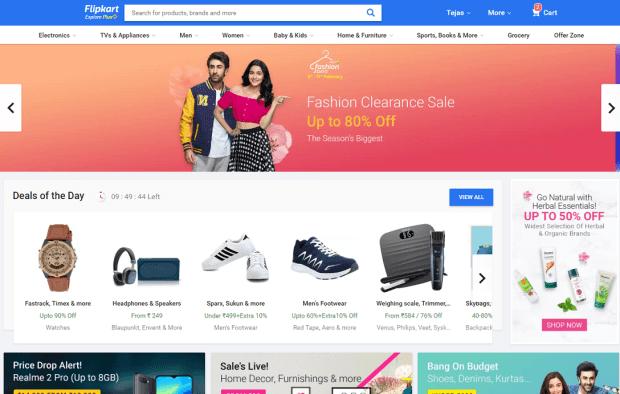 Flipkart.com in 2019