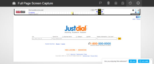 Justdial.com in 2009