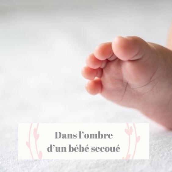 pied de bébé avec texte