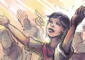 Illustration – Praise (COAH project)