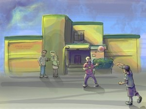 Illustration – Stride Avenue (COAH project)