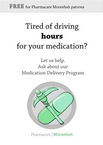 Pharmacare Moranbah – Marketing