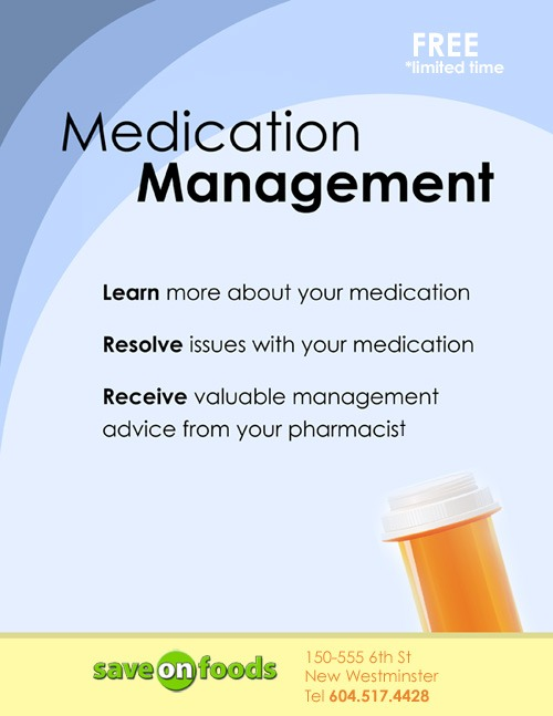 Medication  Management – Poster Design