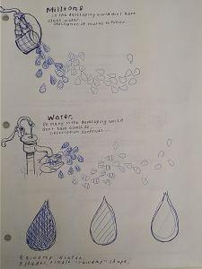 LHF and Samaritan's Purse: Water Donation Mural Sketches