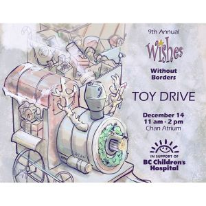 BC Children's Hospital Annual Toy Drive Poster Design: 2015