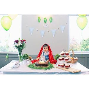 Ava's Red Riding Hood themed First Birthday