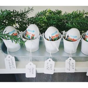 Woodland Kinder Party Favours