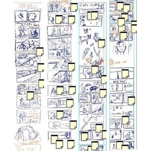 Graphic Novel: Rough Storyboard
