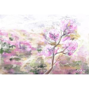 Sketch: Korean Countryside – Azalea Flowers
