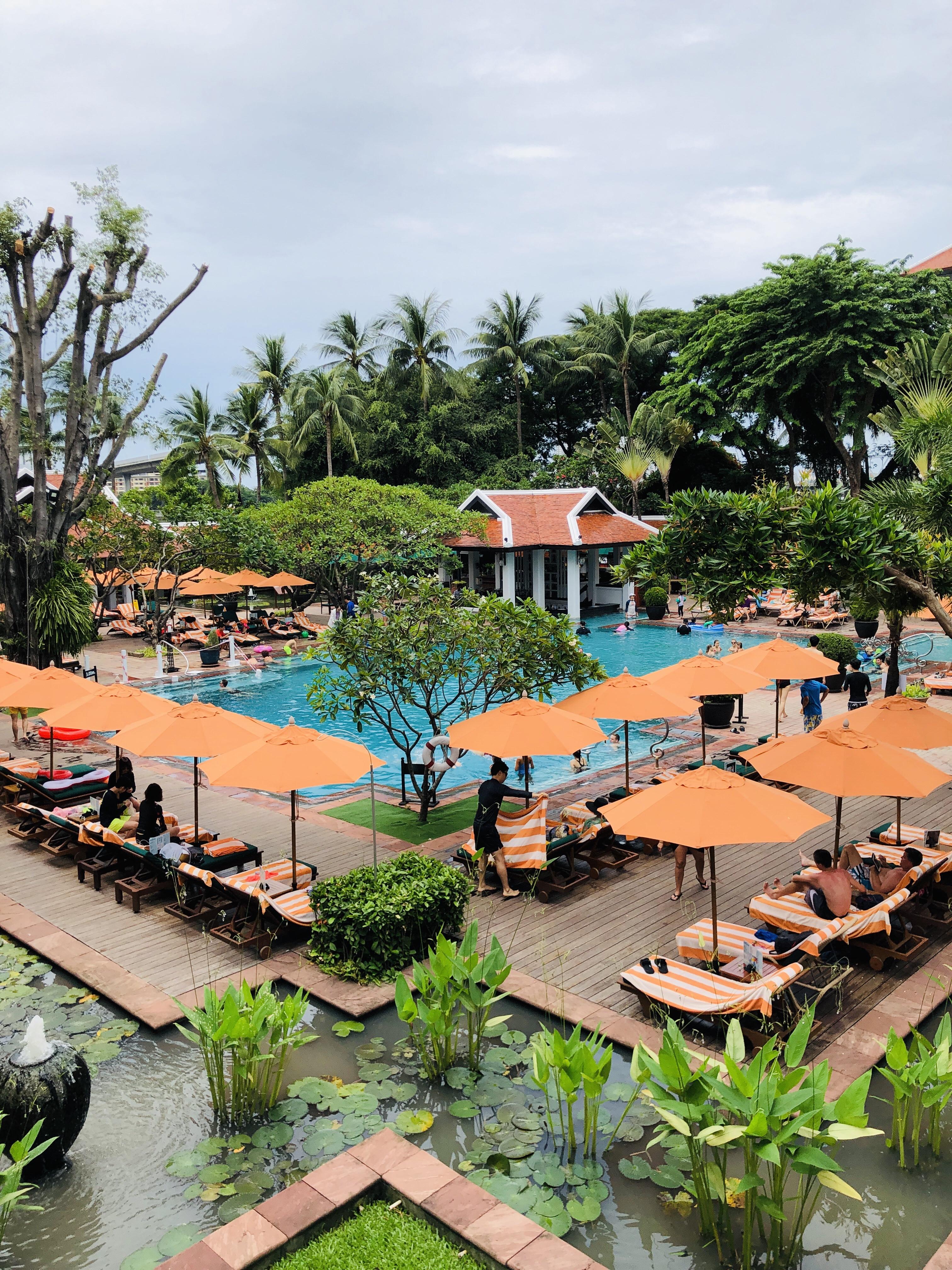 タイ旅行🇹🇭 S7 EP08 アナンタラ・リバーサイド・バンコク・リゾートのプール