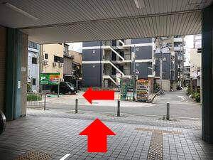 近鉄今川駅からのルート写真4