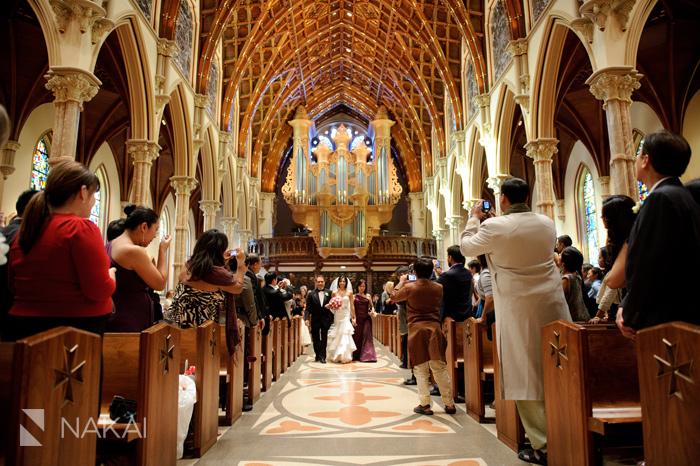Chicago Holy Name Cathedral Renaissance Wedding Photos