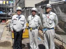 左より、中山社長、嶋木課長、高澤係長