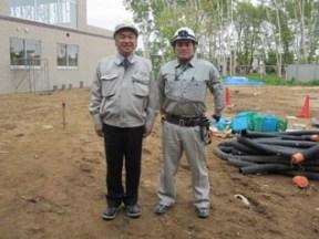 左から 中山社長、田中さん