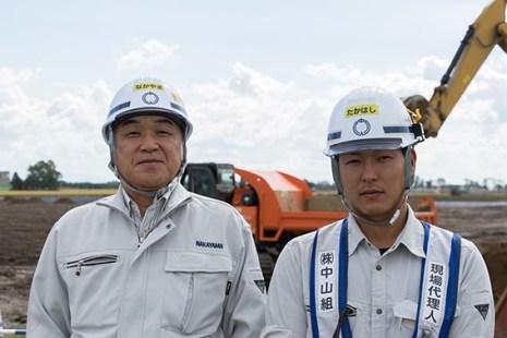 左より中山社長、高橋さん