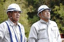 志田さんより現場説明を受ける中山社長