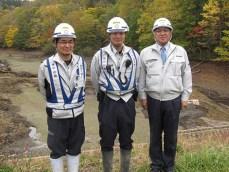 左から 山田さん・小笠原さん・社長