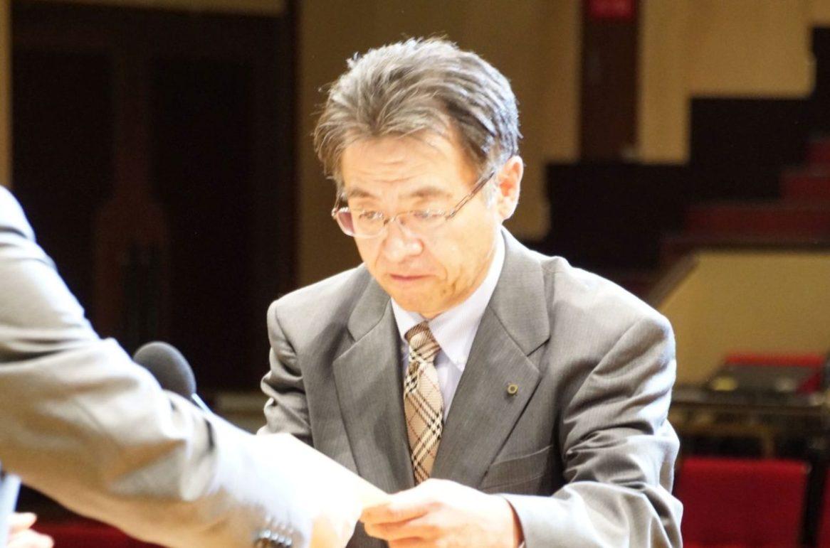 平成30年度昇格者を代表して黒川部長