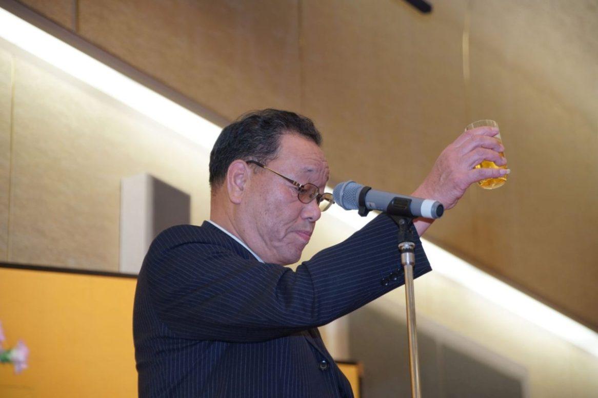 懇親会開会の言葉 棚田専務