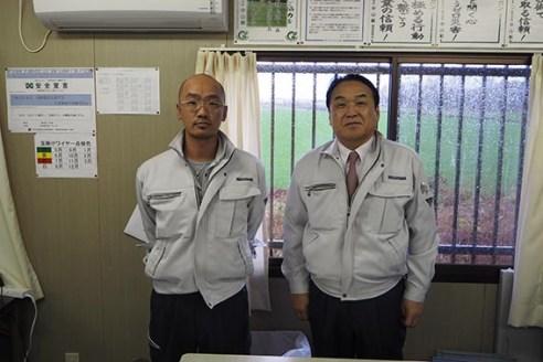 左から本田さん、中山社長