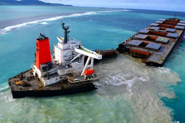 Mauritius Oil Spill Tragedy: How and Why the MV Wakashio Ran Aground, and Aftermath