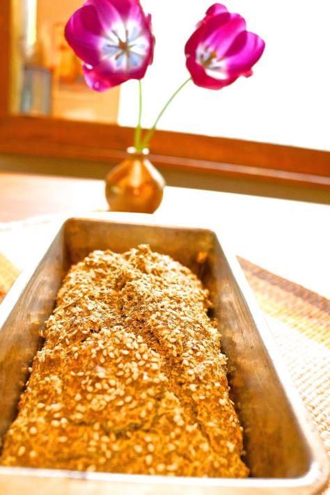 paleo sesame bread