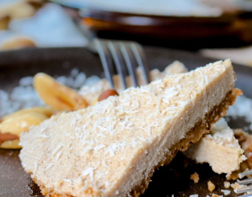 Cinnamon Toast Crunch Raw Pie