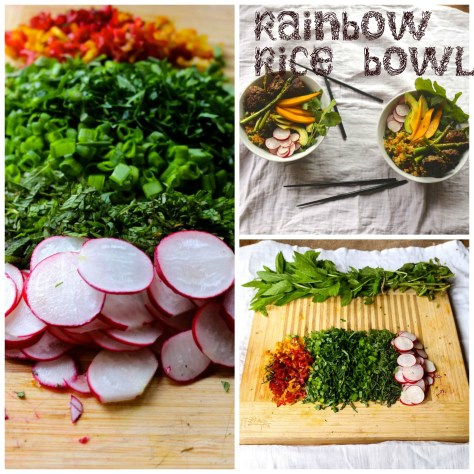 Rainbow Rice Bowl