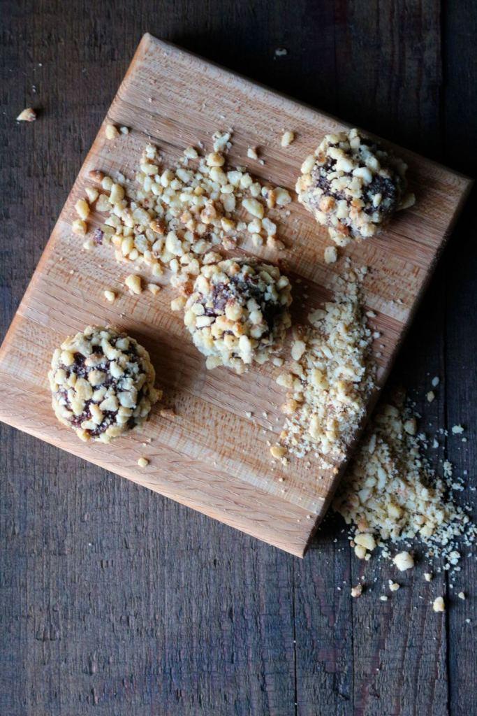 nutella fudge truffles