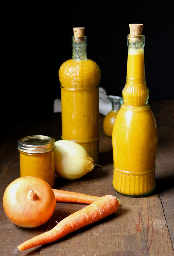 Carribbean Carrot + Habanero Hot sauce