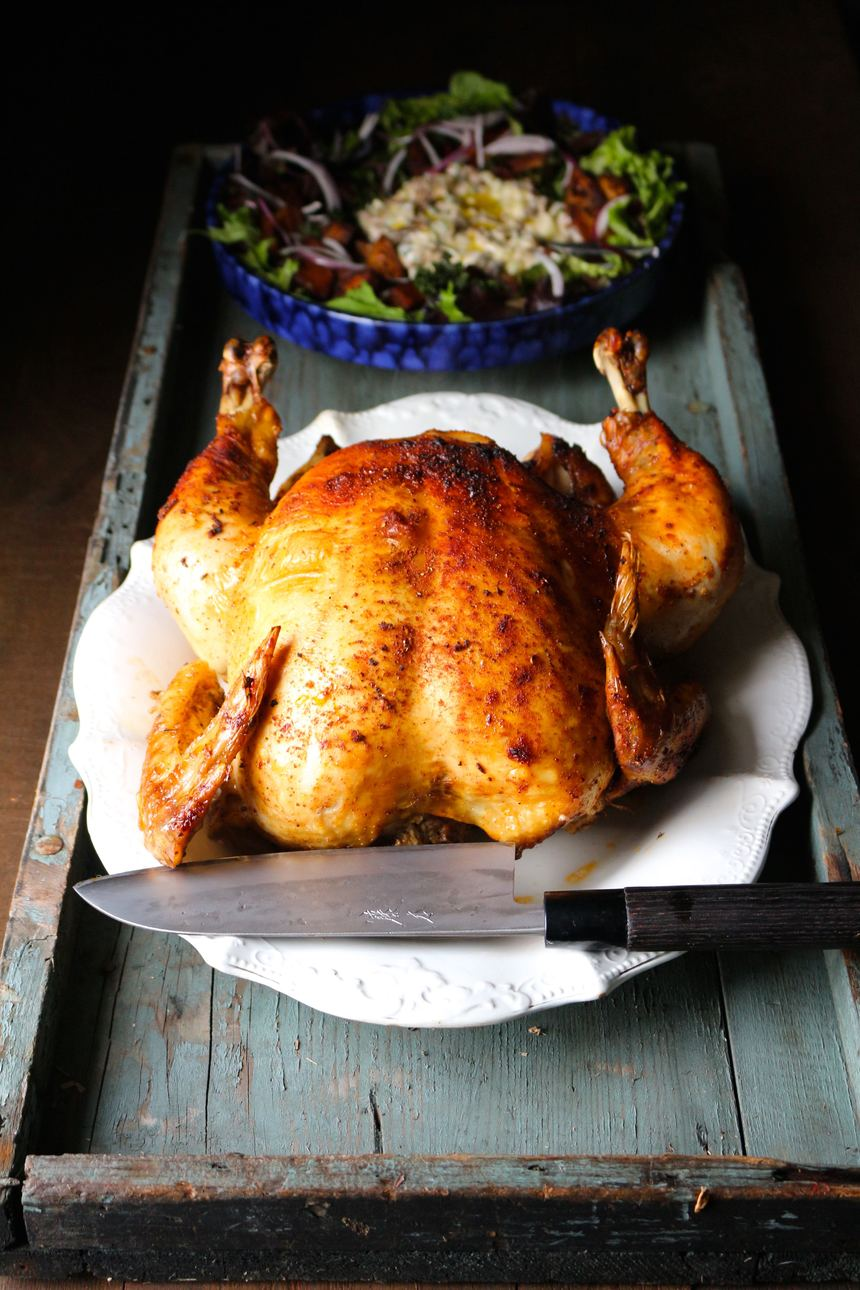 red hot roast chicken