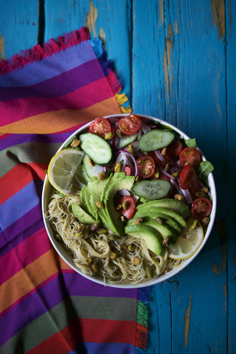 Summer Harvest Noodle Bowl
