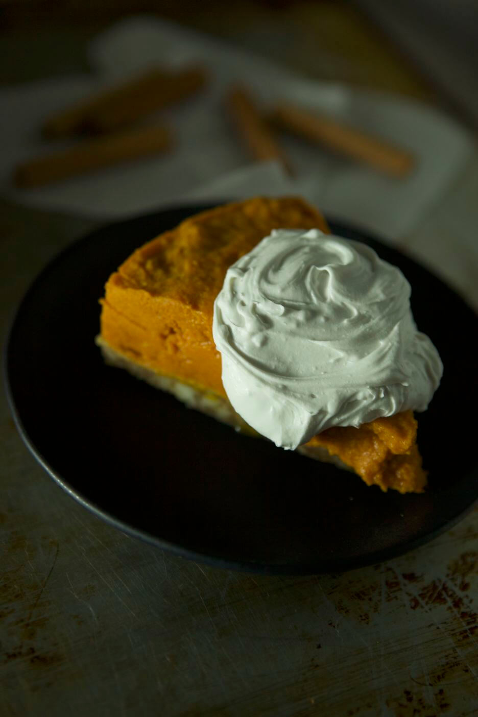 Paleo No Bake Pumpkin Pie