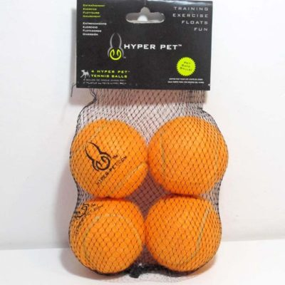 Tennis Ball Orange 4 pack