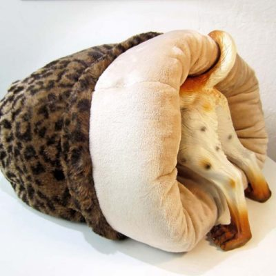 Original Leopard Cozy Burrow Bed