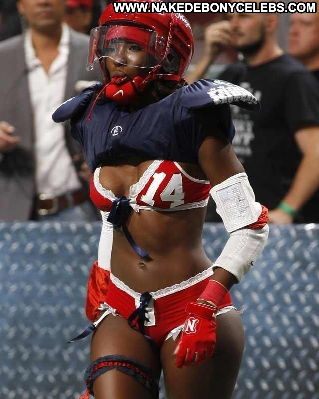 Tanyka Renee Lingerie Football League Ebony Cute Doll Athletic Sultry