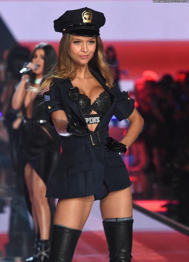 Josephine Skriver Fashion Show Danish Celebrity Beautiful Posing Hot