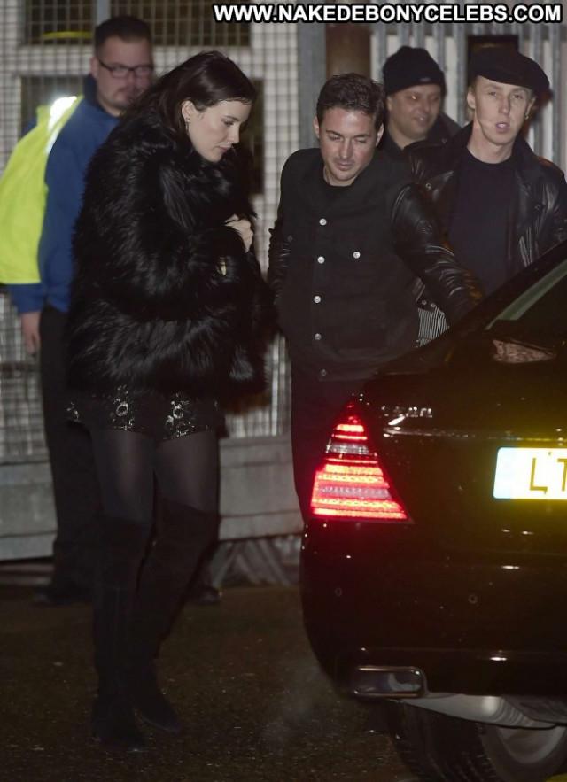 Liv Tyler X Factor London Celebrity Posing Hot Beautiful Paparazzi