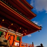 Vermilion‐lacquered pagoda