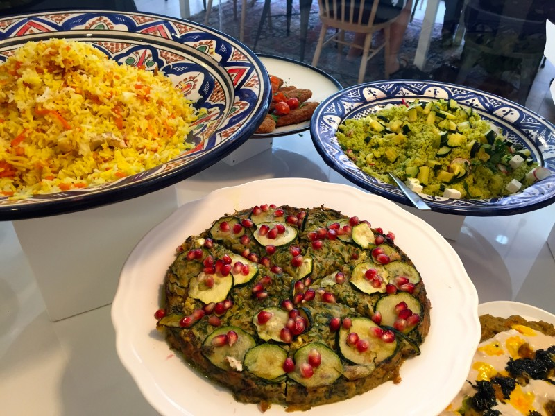 Banibanoo An Iranian Market Style Restaurant In The Center