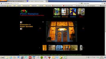 Restoration Gallery on Hampton Glass Site