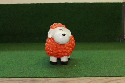 Mini lam wol oranje
