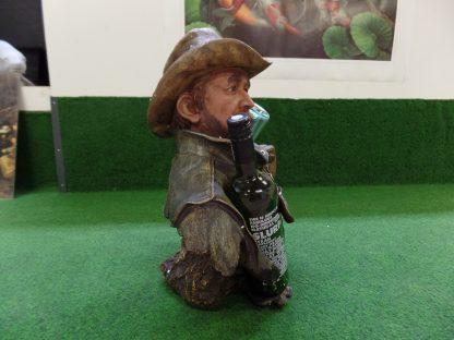 wijnhouder cowboy vol rechter zijkant