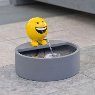 ubbink spuitfiguur be happy geel xl met reservoir en pomp